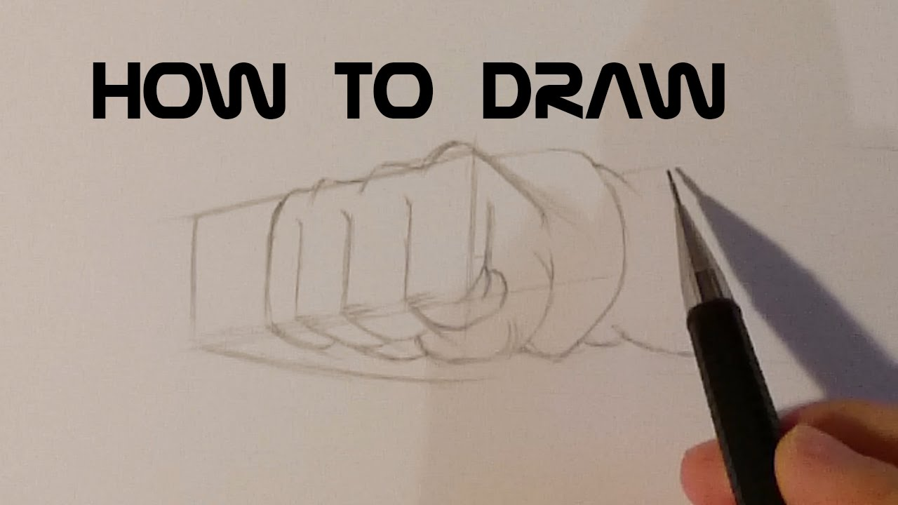 How To Draw Hands With Pictures