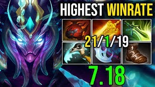 REASON WHY [SPECTRE] Is The Most Highest WinRate Hero in 7.18 (60 56%) by Sylar | Dota 2 FullGame