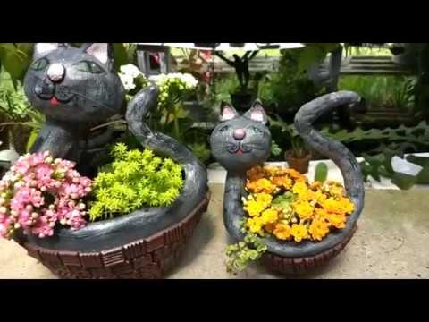 Gatinhos na cesta de flores/Kittens in flower basket