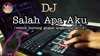 Gambar cover DJ SALAH APA AKU ( SETAN APA YANG MERASUKIMU) by IMp versi burung gagak