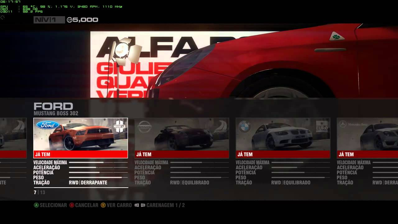 Grid  Cheats Xbox  Unlock Cars