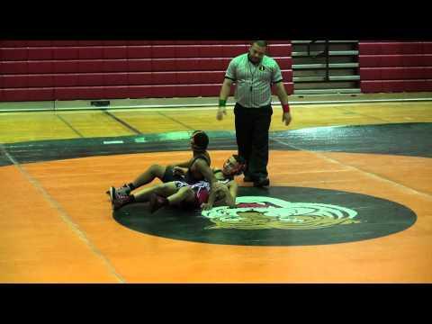 Rahway Middle School Wrestling Defeats  Linden  68  18 Antonio Dalmu