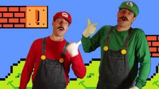 Video Super Mario Bros. Theme Song - Goldentusk (w/ DoogToons) download MP3, 3GP, MP4, WEBM, AVI, FLV Juli 2018