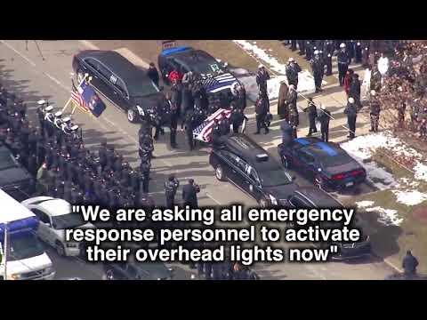 Hear the end of watch call for fallen Detroit police officer Glenn Doss Jr.