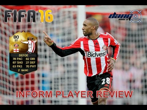 FIFA 16 INFORM JERMAIN DEFOE PLAYER REVIEW + STATS