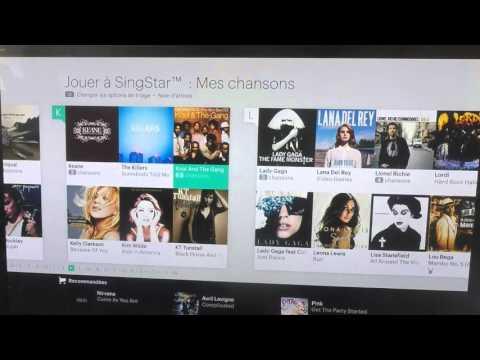 Singstar Tracklist PS4 No Disk