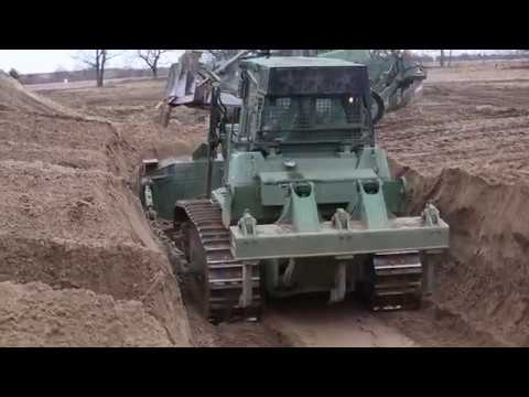 U.S. Marines With Heavy Equipment Platoon