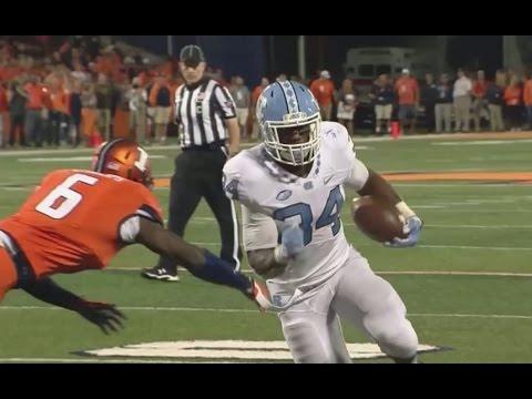 UNC Football: Heels Run Away From Illinois, 48-23