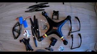 Unboxing New DRONE GW180
