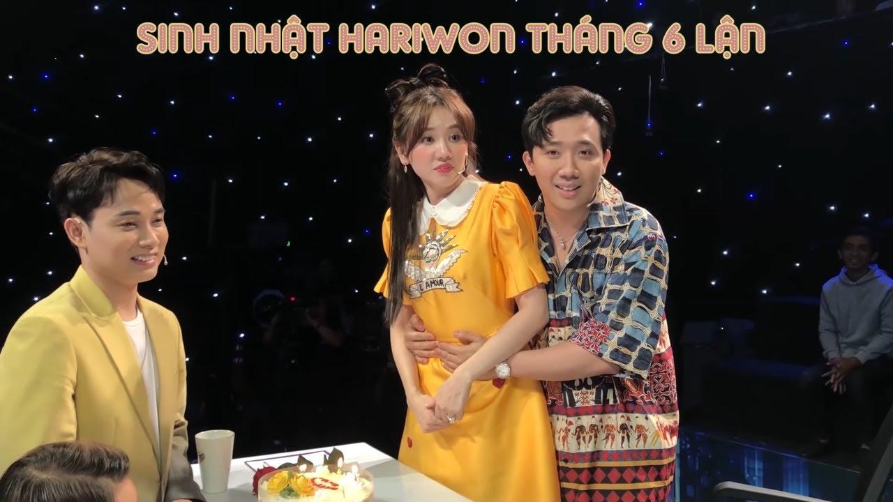 Ekip gameshow chúc mừng sinh nhật Hari và cái kết bất ngờ