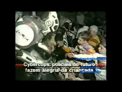 Cybercops no Brasil Ano:1994 Ao Vivo SBT - Programa do Gugu / Aqui Agora