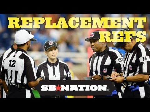 NFL Replacement Refs Scab Tracker - NFL 2012