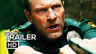 LINE OF DUTY Official Trailer (2019) Aaron Eckhart, Dina Meyer Movie HD