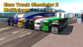 Фото Euro Truck Simulator 2  Multiplayer Truckersmp