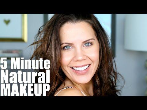 QUICK NATURAL SUMMER MAKEUP | 5 Minutes to Flawless - Tati (GlamLifeGuru)