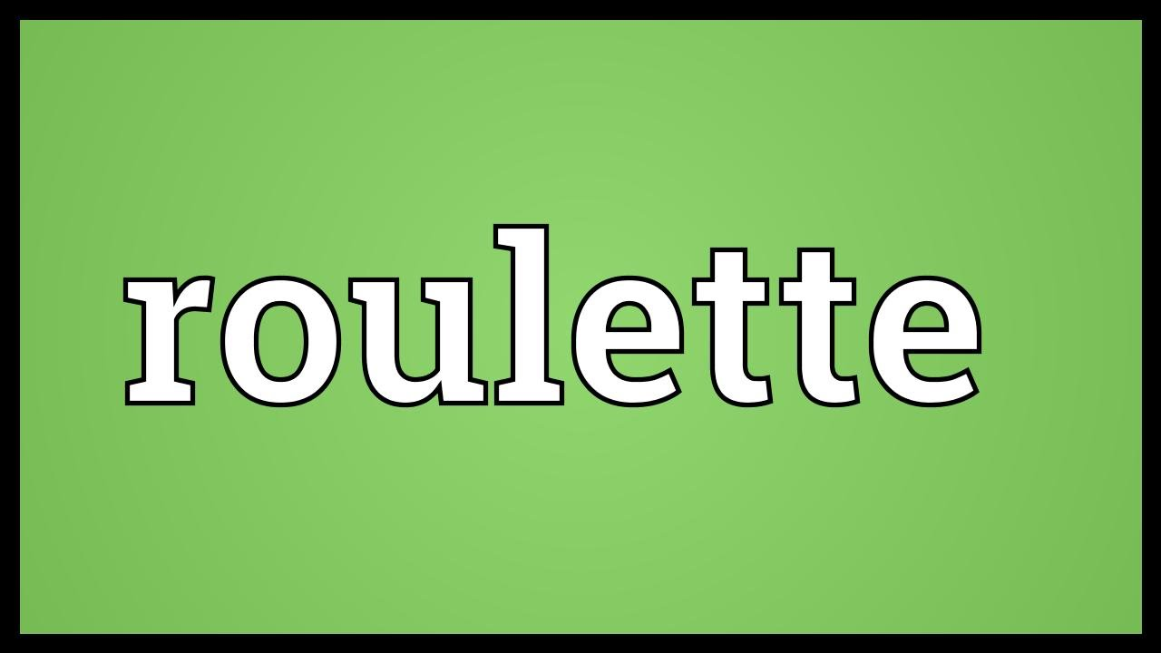 Roulette french pronunciation zynga poker contact email