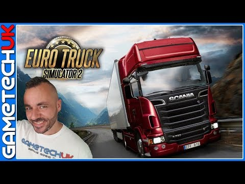 Euro Truck Sim 2 - Driving to Latvia and hitting everything on the way!