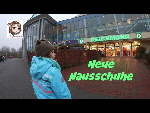 HAUSSCHUHE FÜR DEN KINDERGARTEN 👟 Hannah braucht neue Schuhe - auf zu Deichmann.