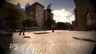 Skate 2 Picnic bench air launch
