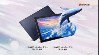 HUAWEI MatePad T10 | T10s: Pre-order now!