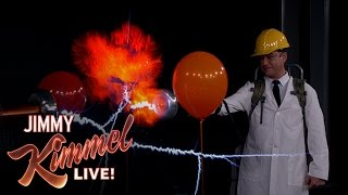 Exploding Paint Cans & Lightning Guns with Science Bob Pflugfelder