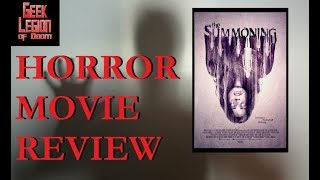 THE SUMMONING ( 2017 Eric Roberts ) Haunting Horror Movie Review