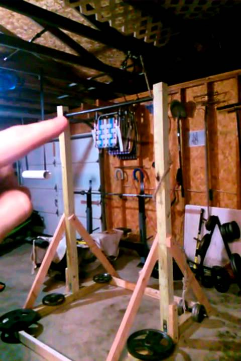 build free standing pull up bar 3