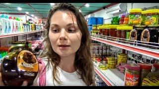 Супермаркет на Мальдивах. Остров Тодду. Мальдивы цены(Прогуливаясь вечером по острову Тоддо, мы случайно наткнулись на очень хороший магазин (по мальдивским..., 2016-01-12T05:52:17.000Z)