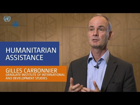 Interview with Gilles Carbonnier - Humanitarian assistance