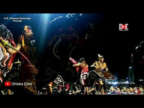 """GRAJAGAN BANYUWANGI"" (Cover Lagu Jaranan) NEW SABDO MANGGOLO Live Monumen BANTARANGIN 2019"
