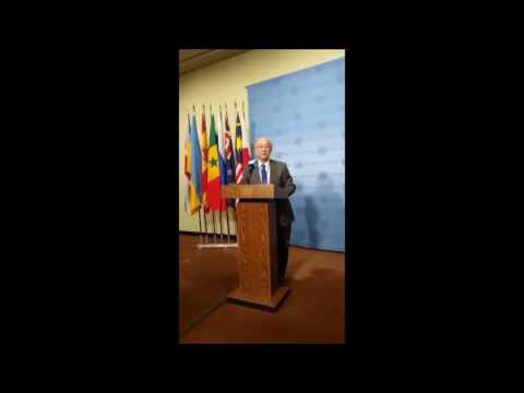 On S Sudan, ICP Asks UNSC's #JPNpres of Arms Embargo, Which Troops, Ladsous & Power About Malong