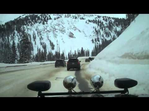 Winter Park Driving  Berthoud Pass Jan, 2011