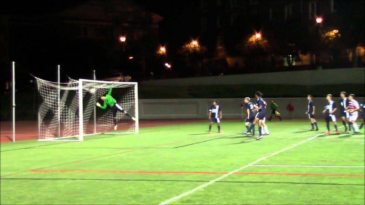 Lynchburg College Men's soccer vs. VA. Wesleyan - YouTube