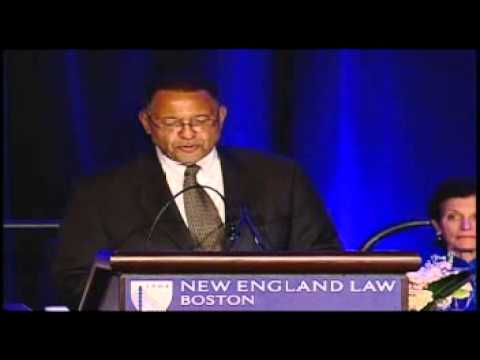 Massachusetts Chief Justice Roderick Ireland discusses two of the leading same-sex marriage cases