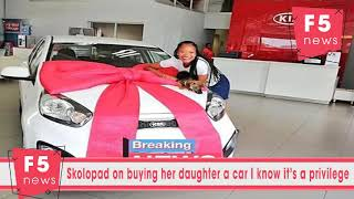 Skolopad on buying her daughter a car: I know it's a privilege
