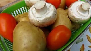 Как разнообразить меню в пост. Овощи на гриле - вкусный рецепт вегетарианского блюда.