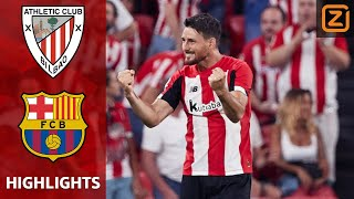 ADURIZ MET LEGENDARISCHE OMHAAL 😱☄️ | Athletic Bilbao vs Barcelona | La Liga 2019/20 | Samenvatting