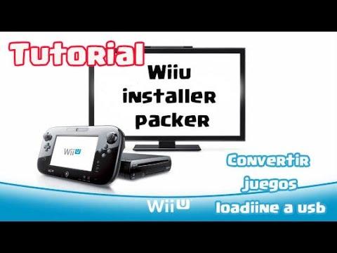 Tutorial WiiU Installer Packer convierte juegos De loadiine a USB
