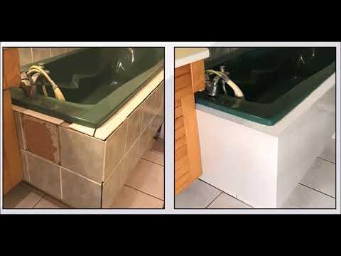 Changez Votre Salle De Bain Sans Enlever Vos Carrelages Avec Carrelag I Youtube