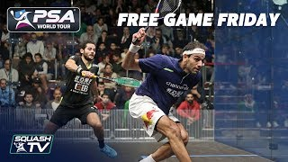 """This game had EVERYTHING!"" - Free Game Friday - ElShorbagy v Gawad - Black Ball Open 2018"
