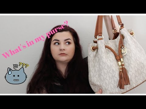 What's in My Purse?/Clean Out My Purse With Me