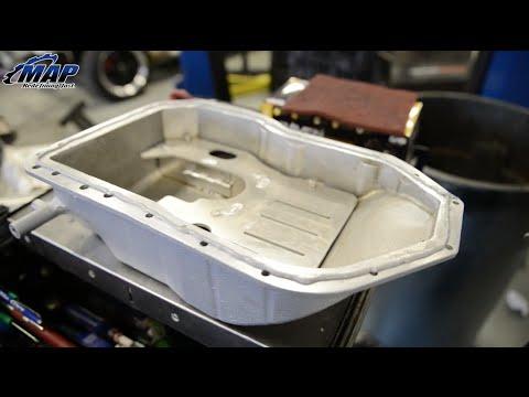 Extra Capacity Evo X Baffled Oil Pan  Maperformance Install Guide