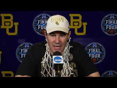 Baylor National Final Postgame Press Conference - 2021 NCAA Tournament