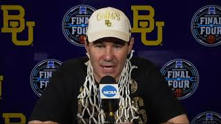 Baylor National Final Postgame Press Conference - 2021 NCAA Tournament