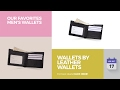Wallets By Leather Wallets Our Favorites Men's Wallets