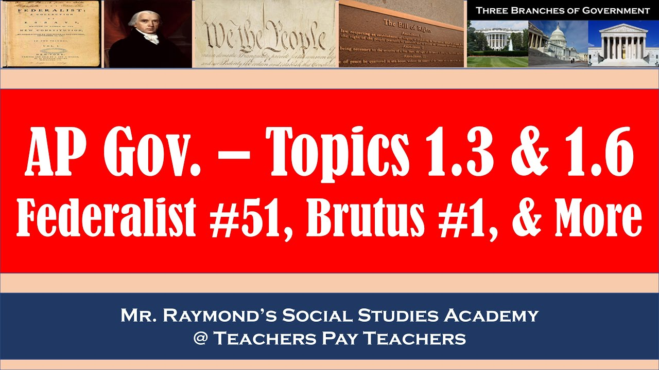 Ap government chapter 13 quiz