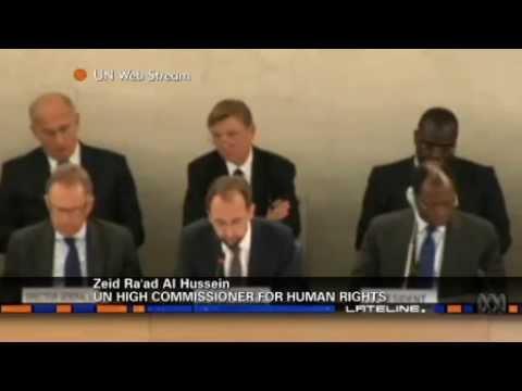 UN Commissioner Prince Zeid Ra'ad Al-Hussein criticises Australia's human rights violations