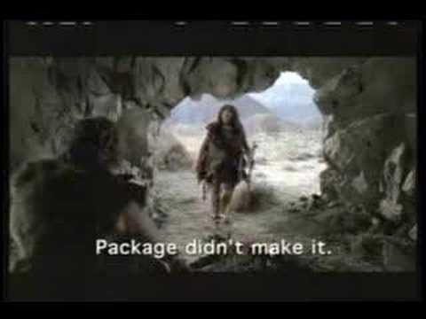 Fedex Caveman Super Bowl XL Commercial