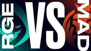 RGE vs. MAD - Week 7 Day 2 | LEC Summer Split | Rogue vs. MAD Lions (2021)