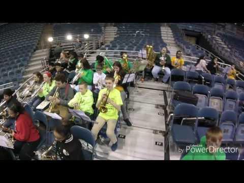 Bullen Middle School Band 2/13/17 BMO Bradley Center